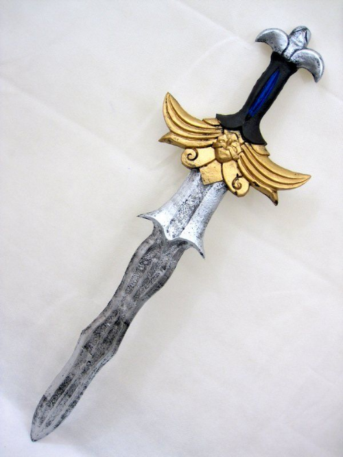 Foam Sword Wave Blade Antique Look Toy Weapon